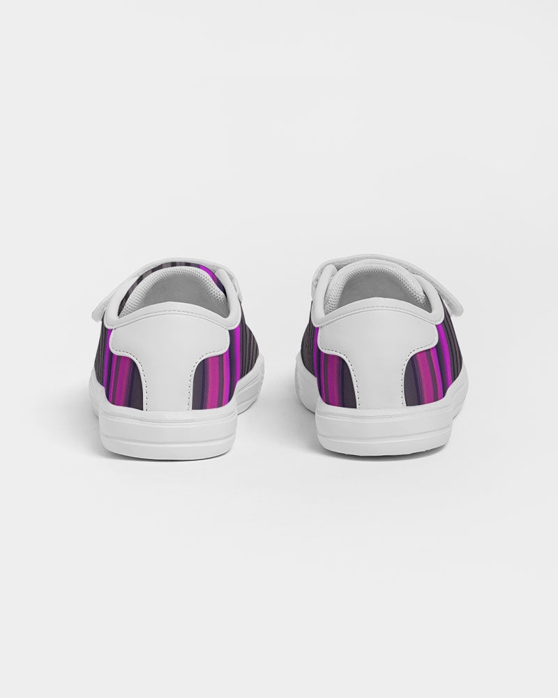 Jellyjaws. Ultraviolet - Unisex Kids Velcro Sneakers