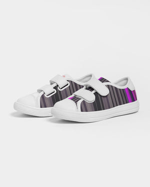 Jellyjaws. Ultraviolet - Kids Canvas Trainers