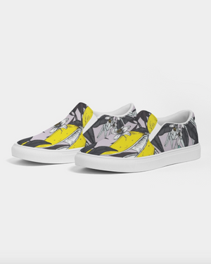 JellyJaws. Men's slip-on canvas shoe