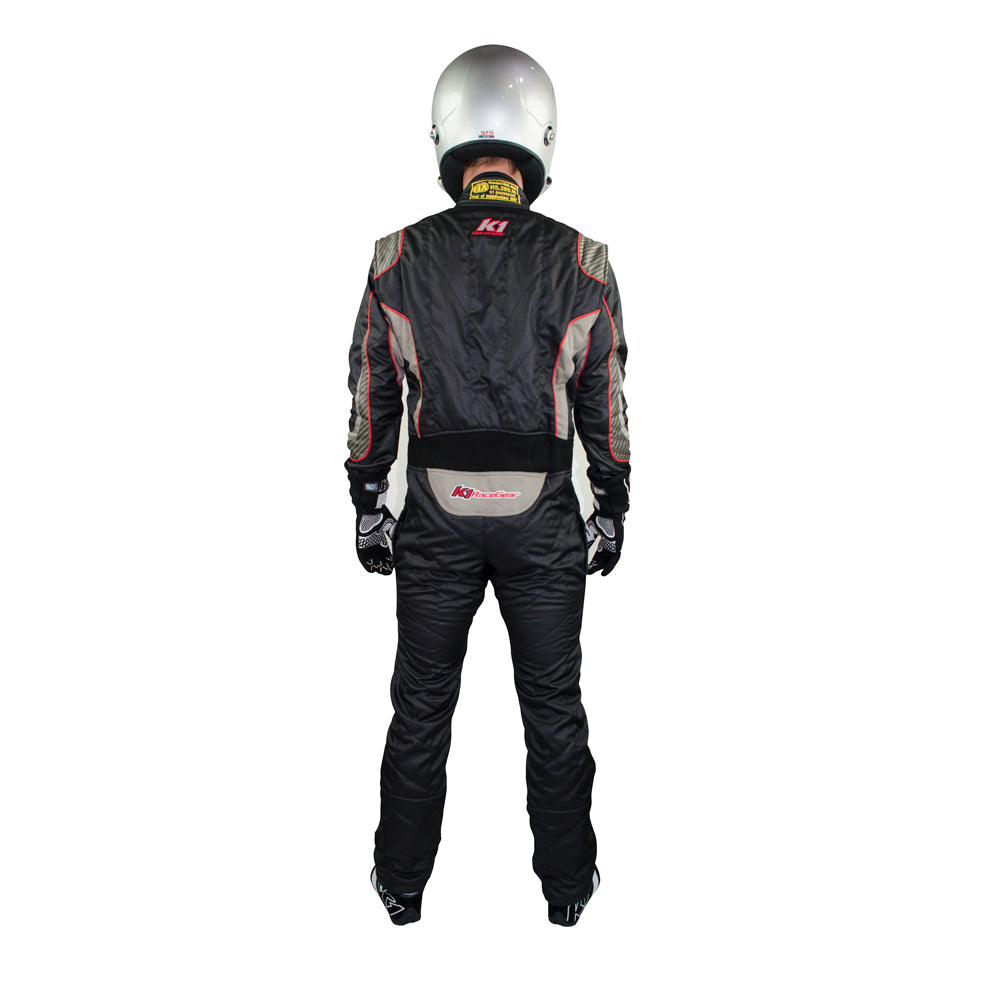 Champ Suit Black Rear