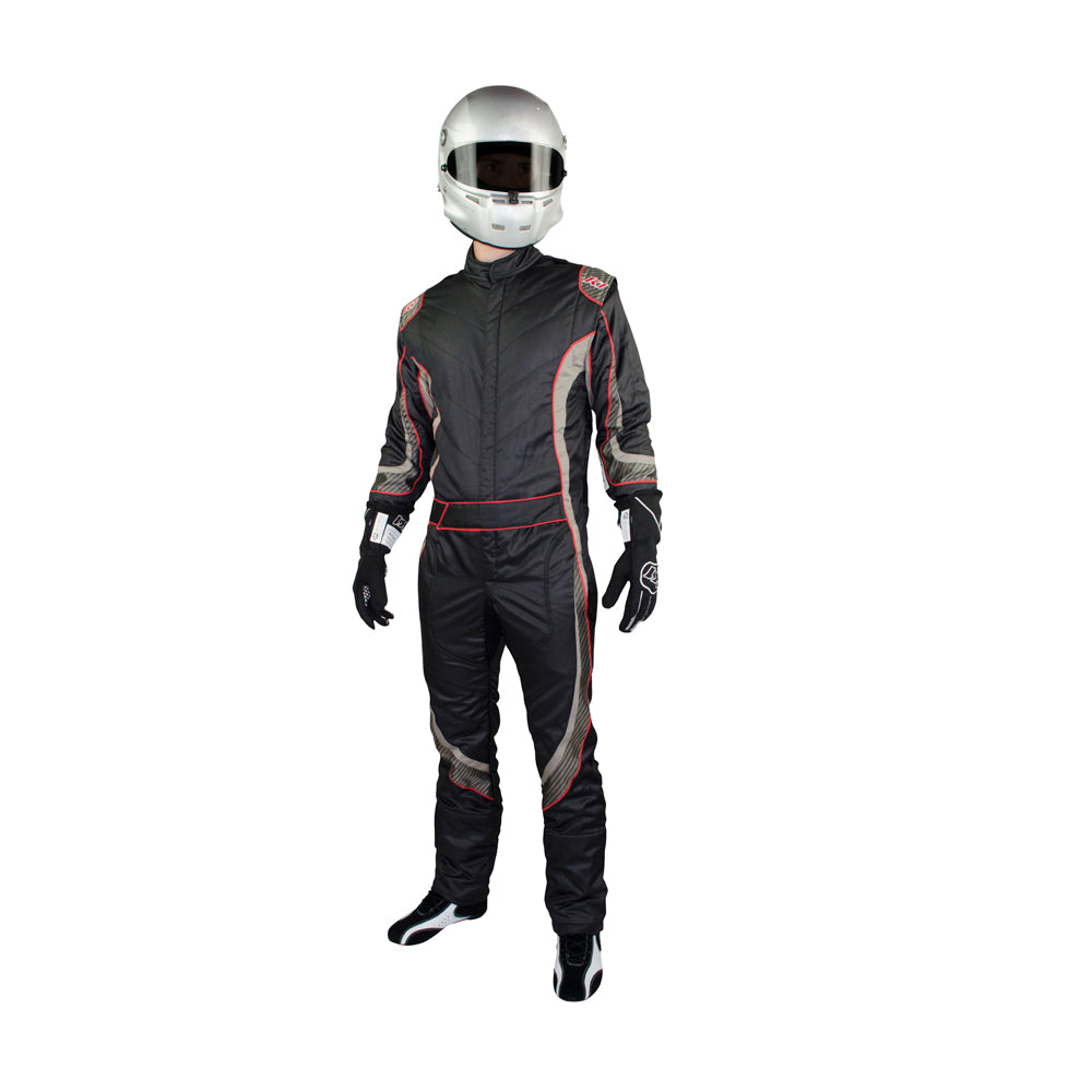 Champ Suit Black Front