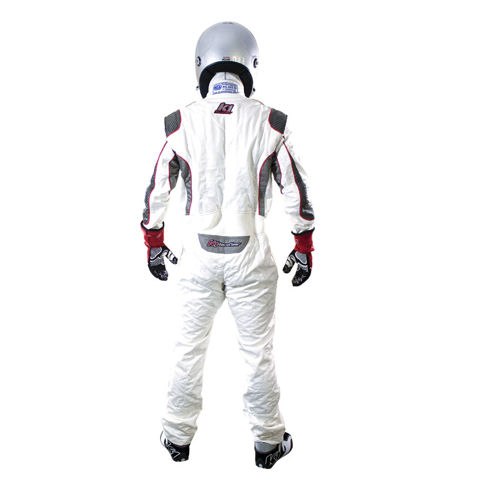 Champ Suit White Rear