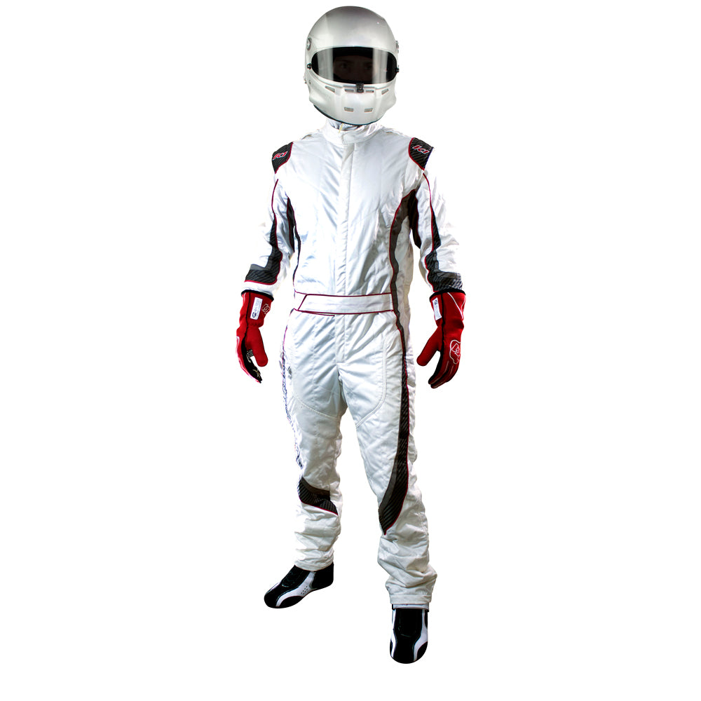 Champ Suit White Front