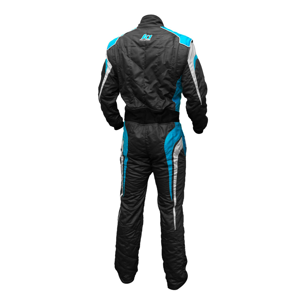 GT Suit Blue Rear