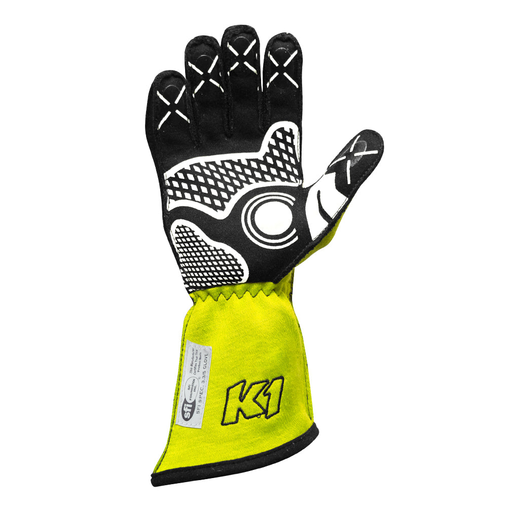 Champ Glove FLO Yellow Palm
