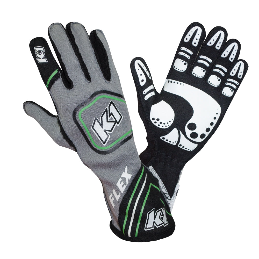 Flex Glove Flo Green