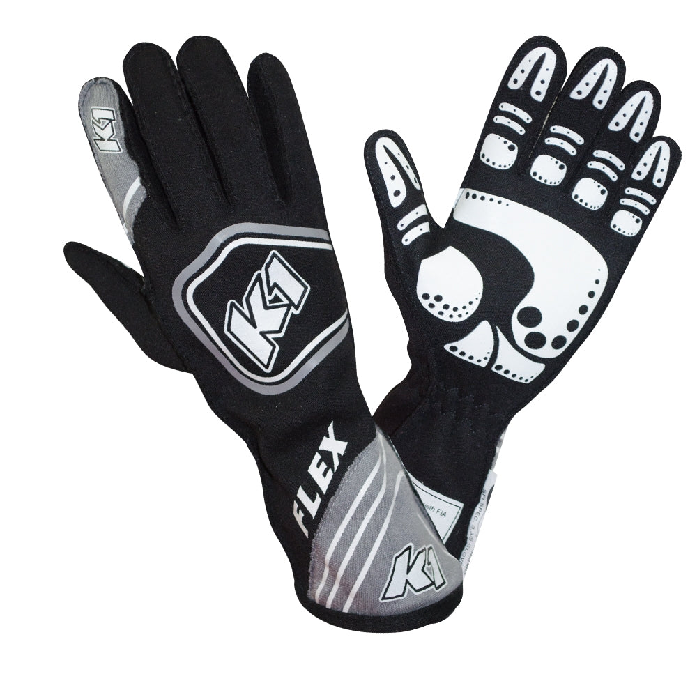 Flex Glove Black Gray