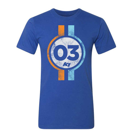03 Men's T-shirt Blue