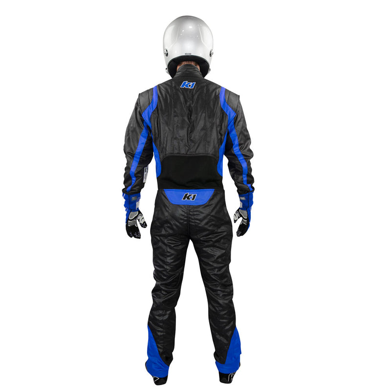 Precision 2 suit black/blue back
