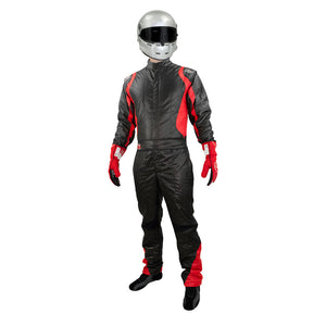 Precision 2 suit black/red front