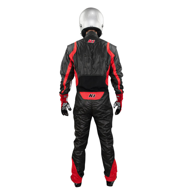 Precision 2 suit black/red back