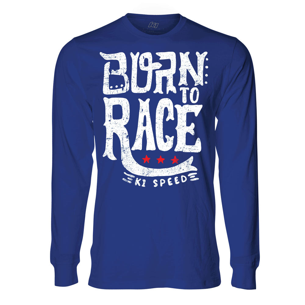 Born To Race Long Sleeve Tee - Youth