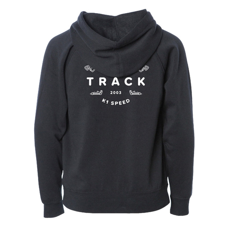 See You At The Track Youth Hoodie Rear