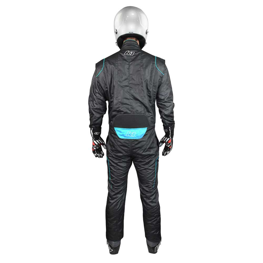 GT@ suit black/flo blue back