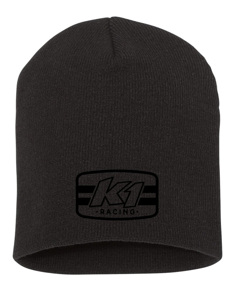 Icon Black Beanie