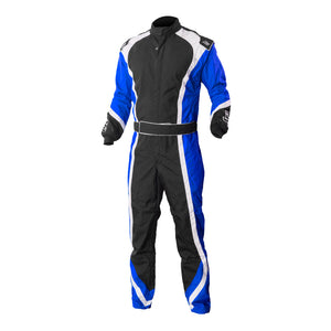 K1 RaceGear Apex Kart Racing Suit CIK/FIA Level 2 - Blue
