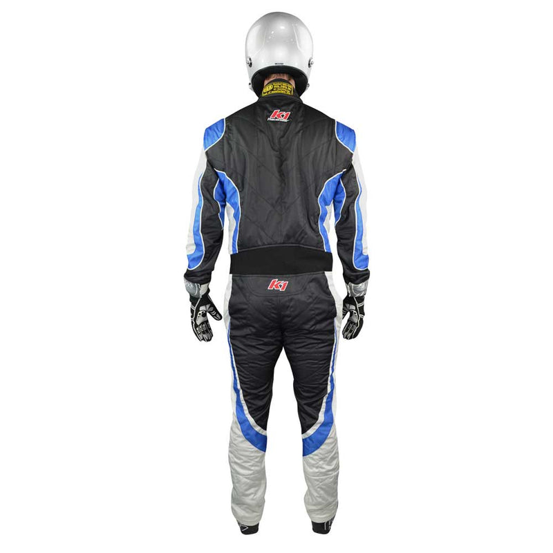 Champ suit black/blue back