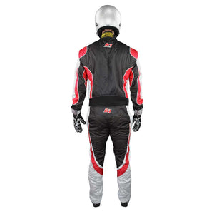 Champ suit black/red back
