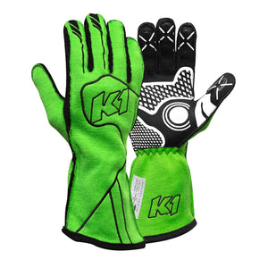 K1 RaceGear Champ Glove - FLO Green