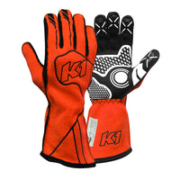 K1 RaceGear Champ Glove - FLO Red