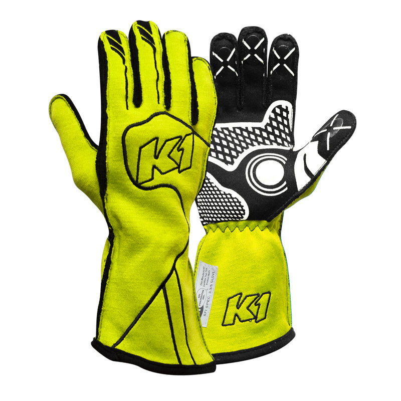 K1 RaceGear Champ Glove - FLO Yellow