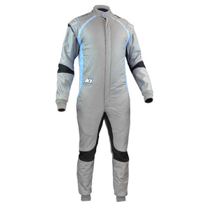 Flex FIA suit gray front