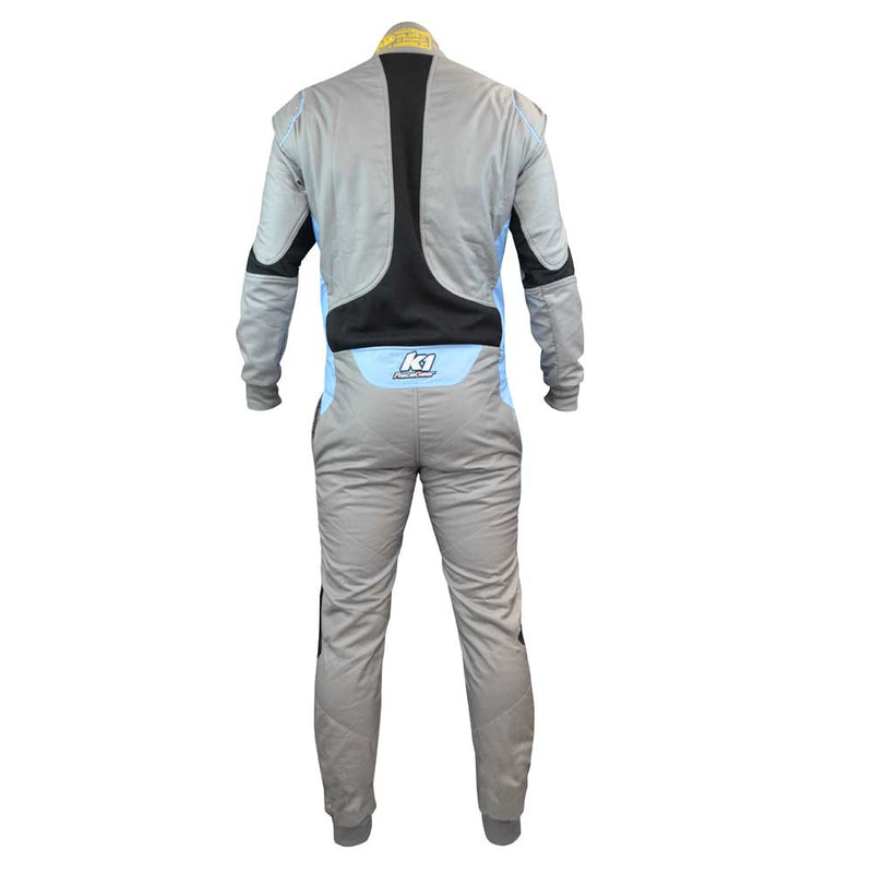 Flex FIA suit gray rear
