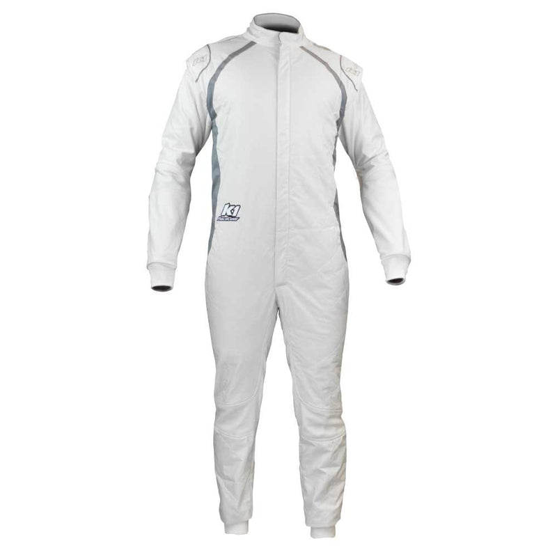 Flex FIA suit white front