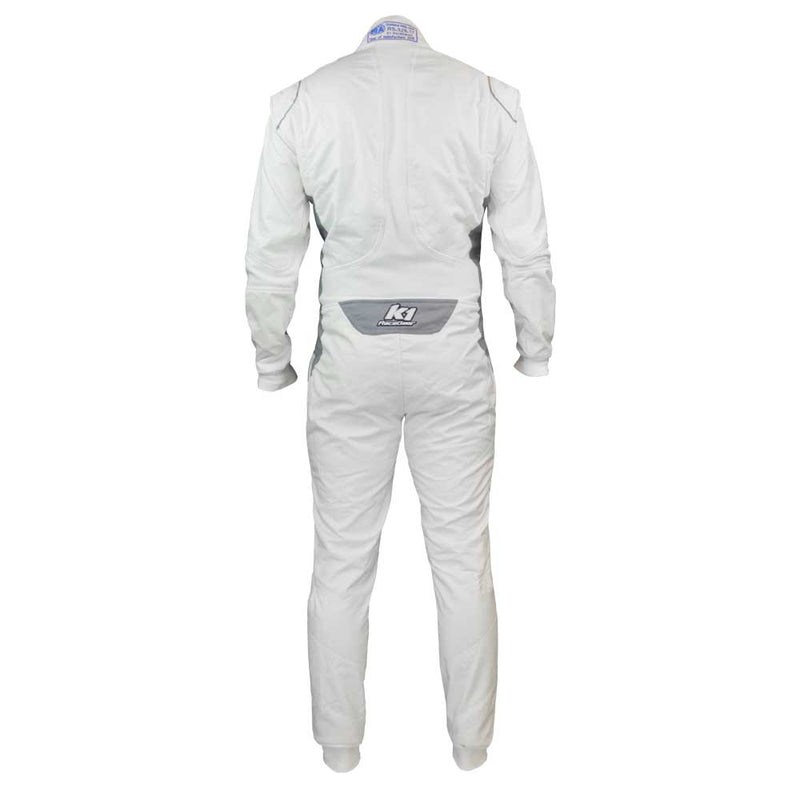 Flex FIA suit white rear