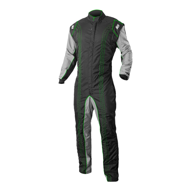 K1 RaceGear GK2 Kart Racing Suit CIK-FIA Level 2 - Green
