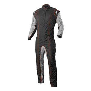 K1 RaceGear GK2 Kart Racing Suit CIK-FIA Level 2 - Orange