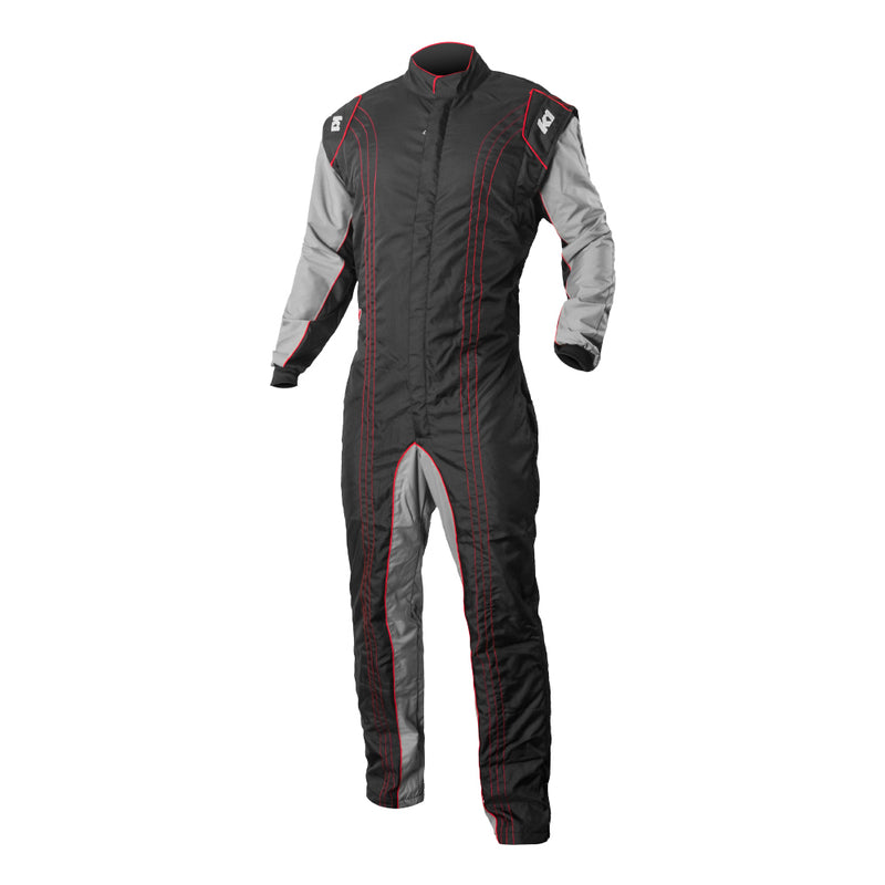 K1 RaceGear GK2 Kart Racing Suit CIK-FIA Level 2 - Red
