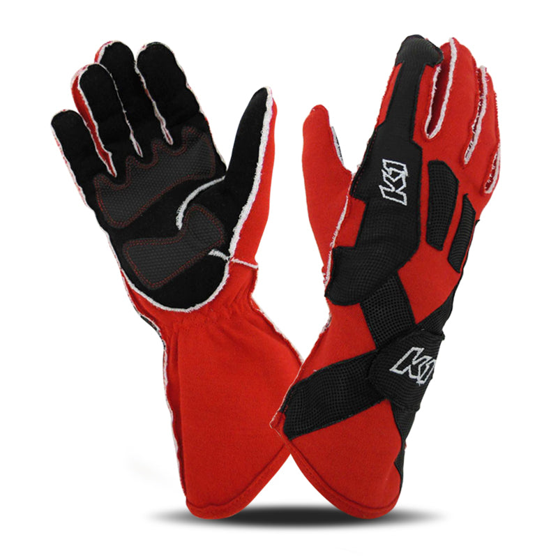 K1 RaceGear Pro XS Gloves - Red