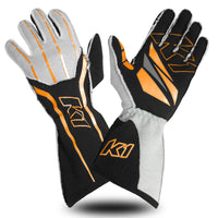 K1 RaceGear GT1 Nomex Auto Racing SFI Glove - Orange