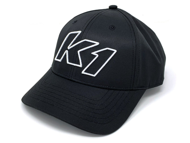 3D Logo Hat Black/White
