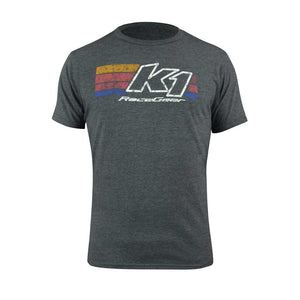 Retro Tee - Heather Gray