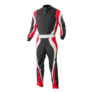 K1 RaceGear Speed 1 Kart Racing Suit CIK/FIA Level 2 - Red