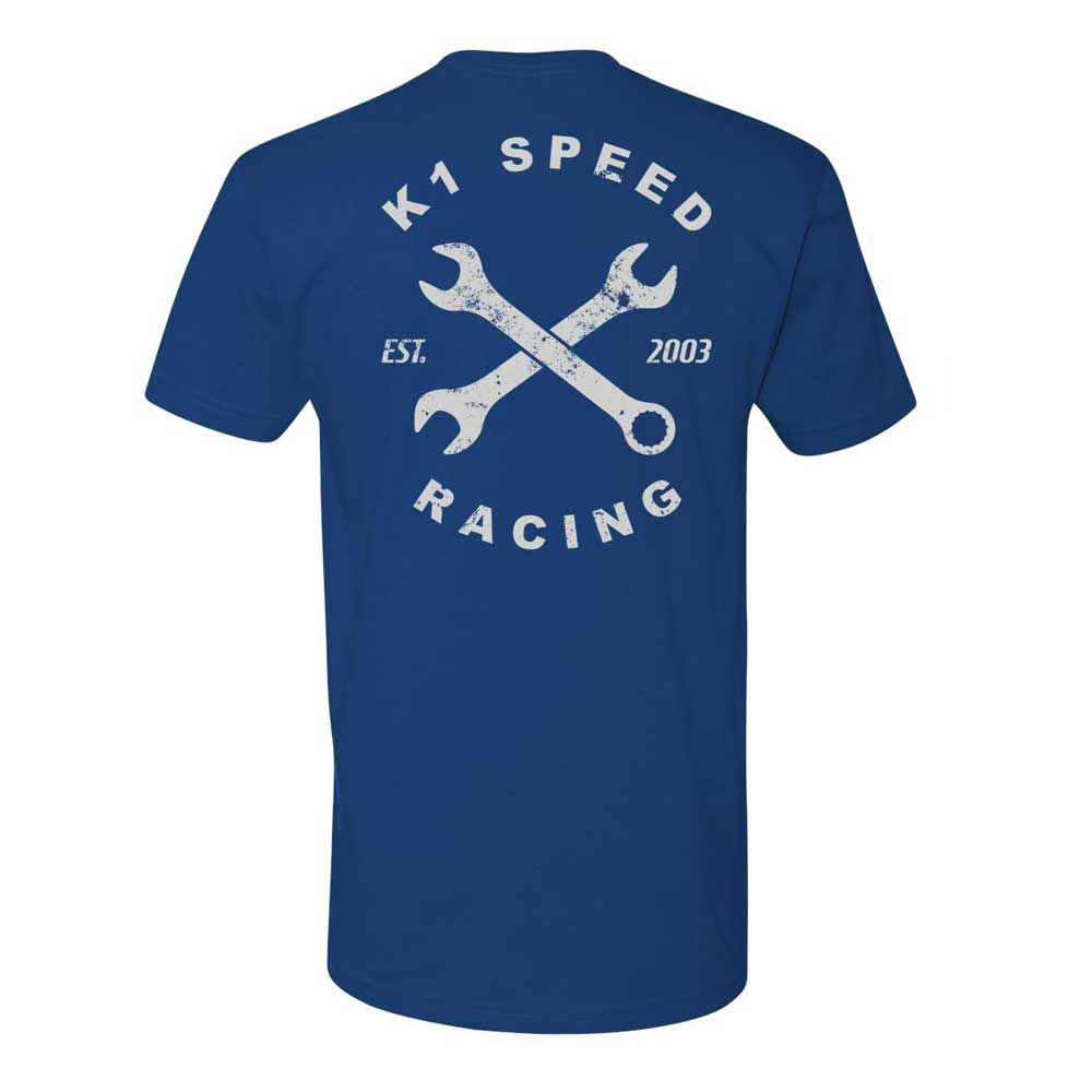 Wrench Blue Tee