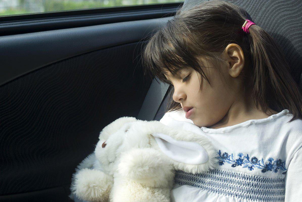 A Girls Who Was Rocked To Sleep in the back of a moving car by rocabi