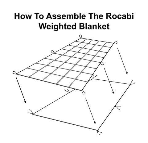 Assembly Instructions | Adult Weighted Blanket by Rocabi