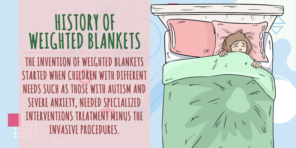 history of weighted blankets