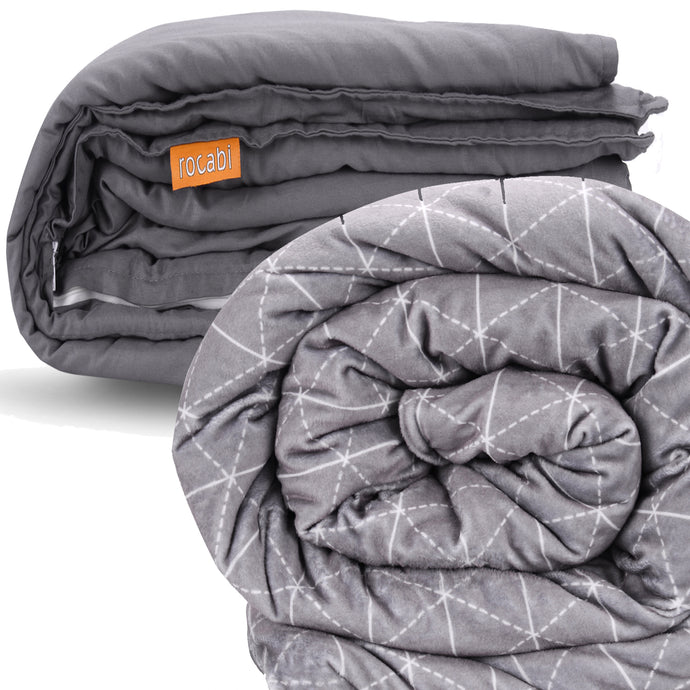 Twin Size Bundle: Inner Weight Sleeve, Warm Cover & Cotton Cover Set | 60
