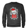 Bah HumPug Ugly Christmas Holiday  Adult Crewneck Sweatshirt