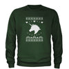 Unicorn Ugly Christmas Adult Crewneck Sweatshirt