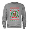 Kith Me Under The Mitheltoe Tyson Ugly Christmas Adult Crewneck Sweatshirt