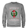 Tupac Ain't Nothing But A Christmas Party Adult Crewneck Sweatshirt