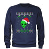 Aliens I Believe in Area 51 Adult Crewneck Sweatshirt
