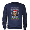 Jingle Bell Rock Ugly Christmas Adult Crewneck Sweatshirt