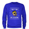 I Don't Roll On Shabbos Lebowski Ugly Christmas Adult Crewneck Sweatshirt