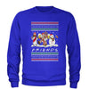 Friends Christmas Drinking Party Ugly Christmas Adult Crewneck Sweatshirt